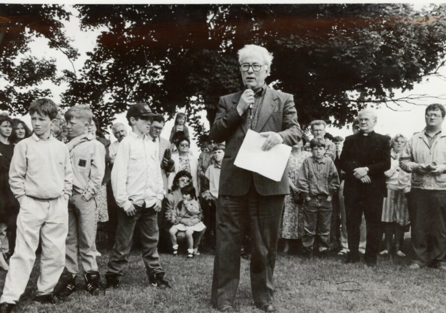 Seamus Heaney's Visit to Athenry