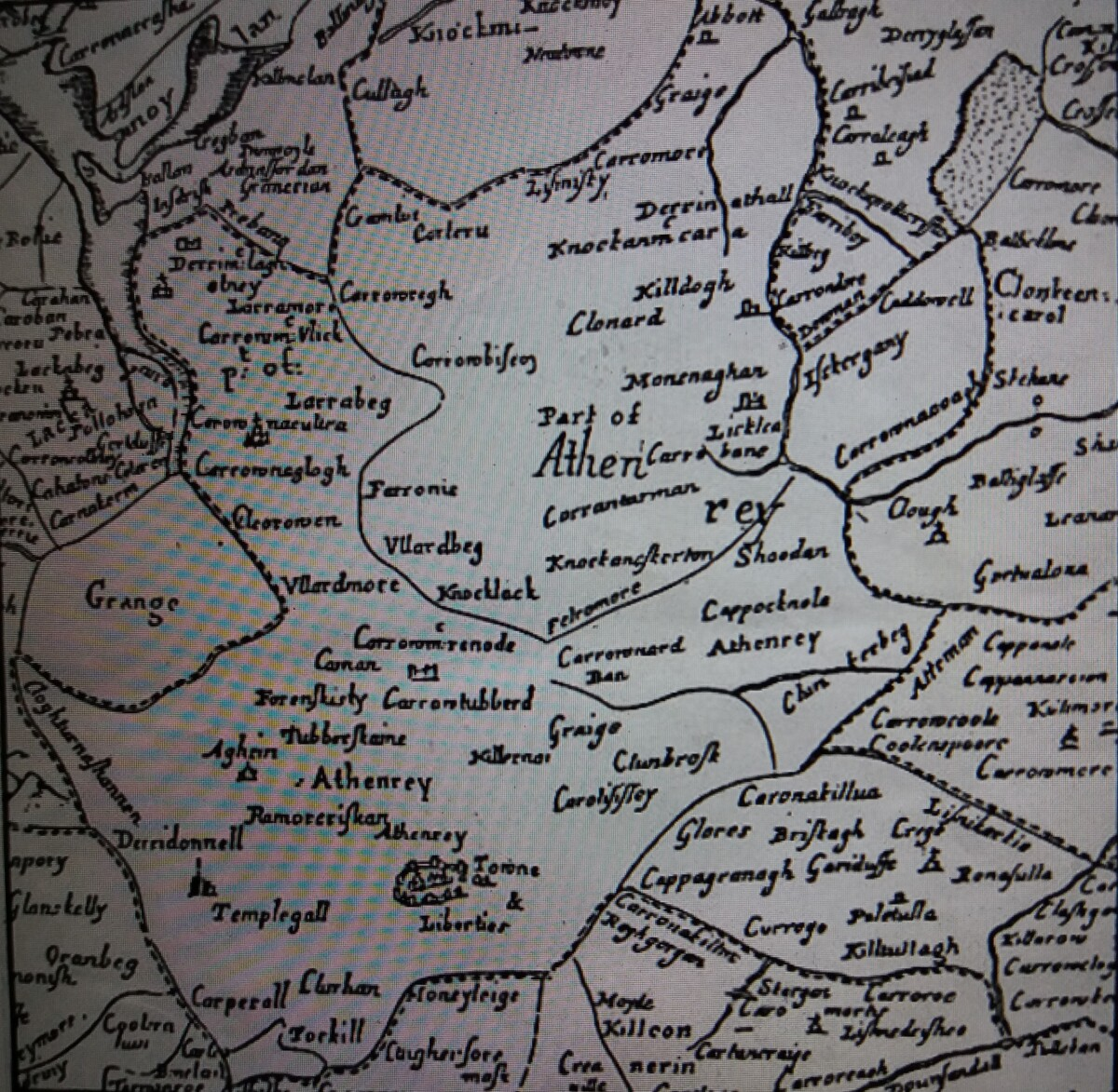 The Parish of Athenry in 1641