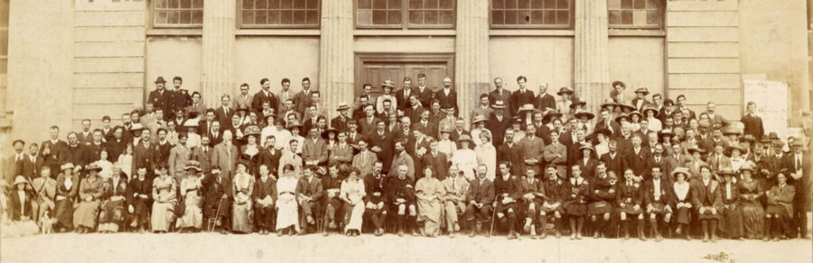 The Conradh na Gaeilge Oireachtas in Galway in 1913 and published here thanks to the Galway,Advisor