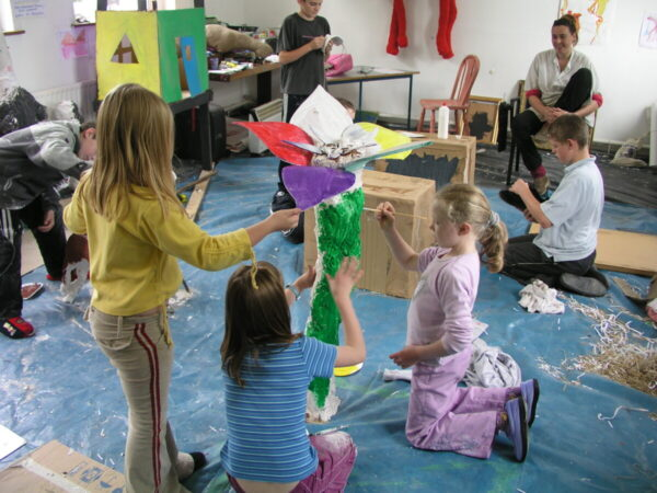 Taking art into the classroom